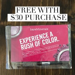 bareMinerals- 3 single use eye color cards